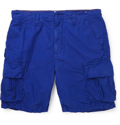 Hartford Cotton and Linen-Blend Shorts