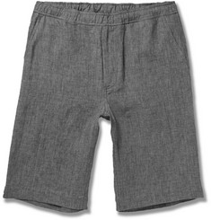 Our Legacy Heathered Linen Shorts
