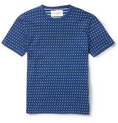 Our Legacy Dot-Jacquard Cotton T-Shirt