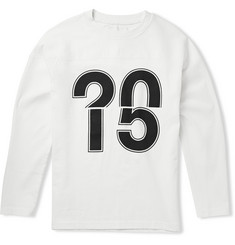 Our Legacy Moto Printed Slub Cotton Sweatshirt