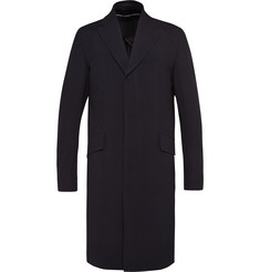 Our Legacy Slim-Fit Lightweight Wool-Seersucker Overcoat