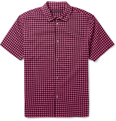 Marc by Marc Jacobs Checked Woven Short-Sleeved Shirt