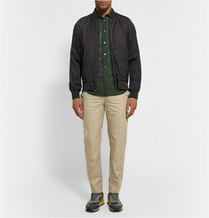 Marc by Marc Jacobs Bruce Washed-Satin Bomber Jacket