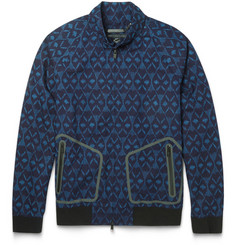 Marc by Marc Jacobs Patterned Cotton Lightweight Bomber Jacket