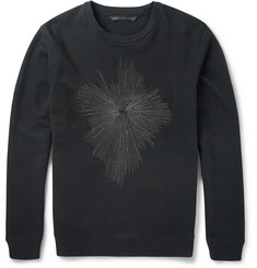 Marc by Marc Jacobs Embroidered Cotton Sweatshirt