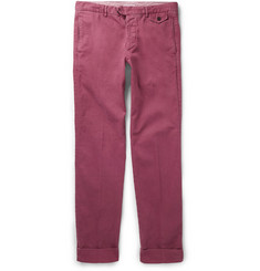 Michael Bastian Slim-Fit Cotton-Blend Trousers