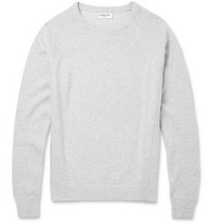 Exemplaire Cashmere and Cotton-Blend Sweater