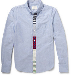 Band of Outsiders Button-Down Collar Cotton Oxford Shirt