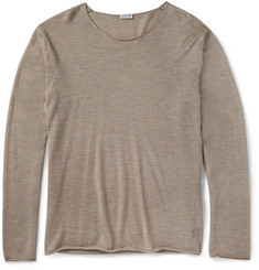 Loewe Fine-Knit Cashmere and Silk-Blend Sweater