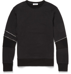 Tim Coppens Zipped Cotton Sweatshirt