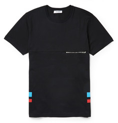 Tim Coppens Zipped Cotton T-Shirt