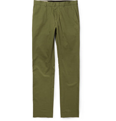 Maison Kitsuné Cotton-Twill Trousers
