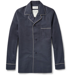 Maison Margiela Cotton and Silk-Blend Pyjama-Style Shirt