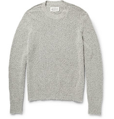 Maison Martin Margiela Textured Cotton-Blend Sweater