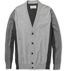 Maison Martin Margiela Panelled Cotton Cardigan