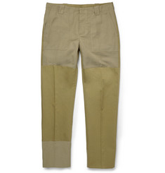 Maison Margiela Slim-Fit Panelled Trousers