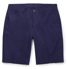 Maison Margiela Cotton and Linen-Blend Twill Shorts