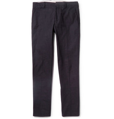 Maison Margiela Slim-Fit Cotton-Canvas Trousers