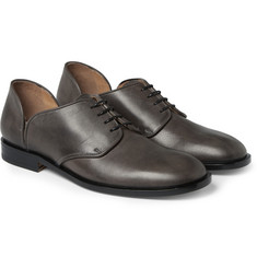 Maison Margiela Cut-Out Leather Derby Shoes