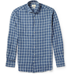 Hackett Checked Linen Shirt