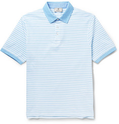 Hackett Striped Cotton Polo Shirt