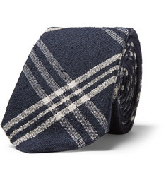 Hackett Plaid Silk Tie