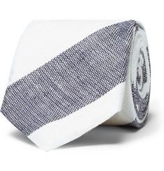 Hackett Striped Linen Tie