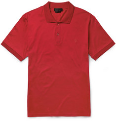 Alexander McQueen Cotton Polo Shirt