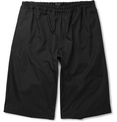 Alexander McQueen Oversized Cotton Shorts