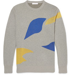 Alexander McQueen Intarsia Knitted Sweater