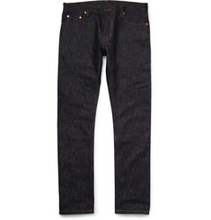 Valentino Tapered Selvedge Denim Jeans