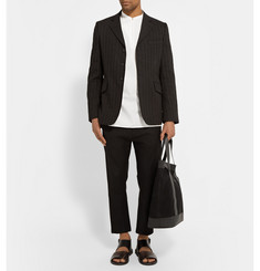Christophe Lemaire Gusset-Collar Cotton-Poplin Shirt