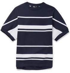 Kolor Striped Cotton-Jersey T-Shirt