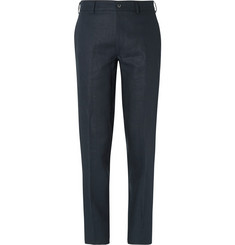 Margaret Howell Tapered Washed-Linen Trousers