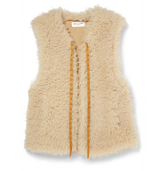Saint Laurent Shearling Gilet