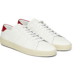 Saint Laurent Leather Sneakers