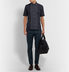 Paul Smith Striped Cotton-Voile Shirt
