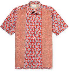 Paul Smith Paisley-Print Cotton Shirt
