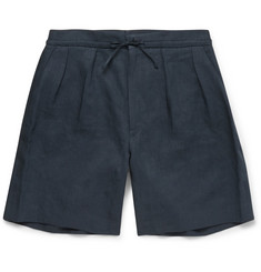 Paul Smith Pleat-Front Linen Shorts