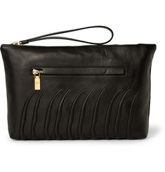 Alexander McQueen Ribcage Leather Pouch