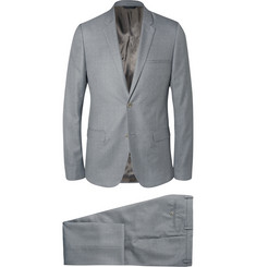 Calvin Klein Collection Grey Slim-Fit Wool and Silk-Blend Suit