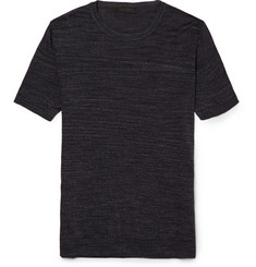 Calvin Klein Collection Knitted Silk T-Shirt
