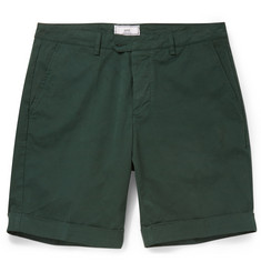 AMI Cotton-Blend Shorts