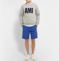 AMI Stretch-Cotton Shorts
