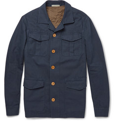Boglioli Cotton and Linen-Blend Field Jacket