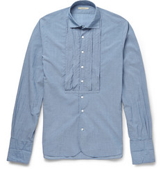 Boglioli Bib-Front Cotton Shirt