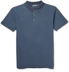 Boglioli Cotton-Blend Piqué Polo Shirt