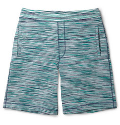 Missoni Striped Knitted Cotton Shorts