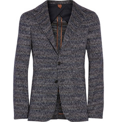 Missoni Textured Cotton and Wool-Blend Blazer