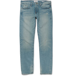 Frame Denim Rincon Slim-Fit Washed Denim Jeans